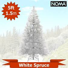 5 ft white artificial trees wizard