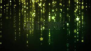 background with glittering lights and raining particles