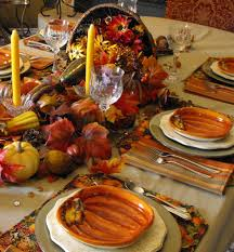 cornucopia centerpiece we gather together to give thanks of the party always