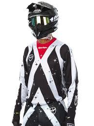 motocross gear ireland troy lee designs white black 2017 se air phantom mx jersey troy