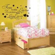 Decoration Star Wall Decals Home by Twinkle Little Star Wall Decals Removable 3d Wall Sticker Home
