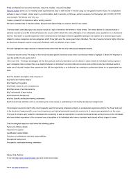 Resume Maker Pro 17 Free Professional Resume Maker Resume Example And Free Resume Maker