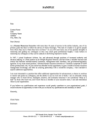 ideas collection human resource job cover letter sample for your