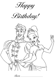 printable 19 happy birthday disney coloring pages 6219 free