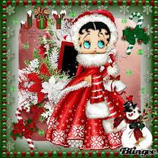 92 best christmas betty boop images on pinterest betty boop