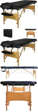 fold up massage table for sale massage tables and chairs 74l black 3 fold portable massage table