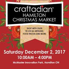 craftadian christmas market hamilton hamilton made urban