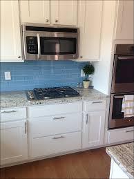 kitchen blue grey backsplash beige backsplash mosaic kitchen