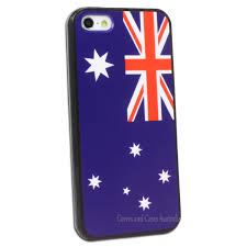 Austailia Flag Australian Flag Printed Hard Back Case For Apple Iphone 5 5s Se