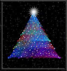 twinkling christmas tree christmas lights decoration