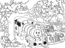 easter thomas train coloring pages printable kindergarten