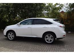 lexus uk service used lexus rx 450h suv 3 5 se i station wagon cvt 5dr in high