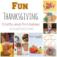 s journey to perfection thanksgiving crafts and printables