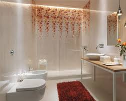 Red And White Bathroom Ideas Bathroom Small Bathroom With Space Saving Storage Solutions