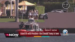 island life with president elect trump in palm beach youtube