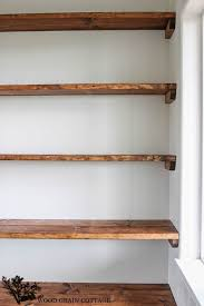 Wood Shelf Plans Do Yourself by Best 25 Diy Closet Shelves Ideas On Pinterest Closet Shelves