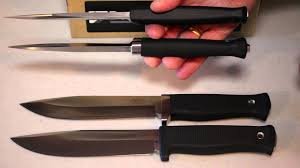 fallkniven a1 pro and s1 pro handle comparison youtube