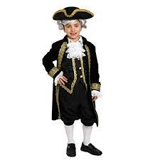 Historical Halloween Costume Amazon Dress America Kids Historical Alexander Hamilton