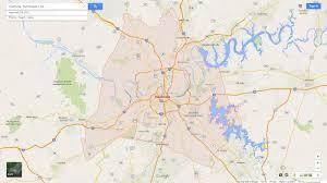 Middle Tn Map Nashville Maps And Orientation Nashville Tennessee Tn Usa