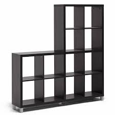 amazon com baxton studio sunna modern cube shelving unit dark