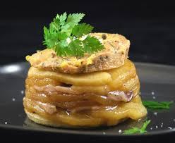 cuisiner foie gras tatin de magret de canard au foie gras recette de tatin de magret