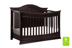 Da Vinci Emily Mini Crib by Meadow 4 In 1 Convertible Crib With Toddler Bed Conversion Kit