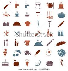 kitchen tools and equipment kitchen tools equipment icon set food stock photo photo vector