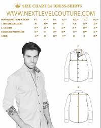 bertigo men dress shirt measurement