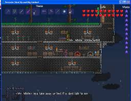 Terraria How To Make A Bed Official Ish Giantbomb Terraria Server Terraria Giant Bomb