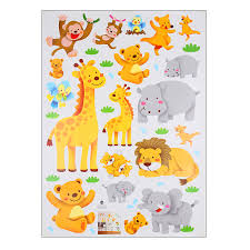 popular baby rooms nursery buy cheap baby rooms nursery lots from cartoon jungle wild animals wall sticker removable pvc decal giraffe lion bear monkey home kids nursery
