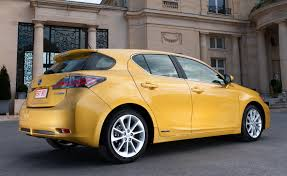 lexus hatchback sedan consumer reports lexus hybrid tops in test carbuzzard car