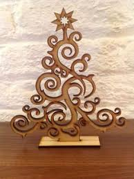 tree ornament free vector model ready for laser