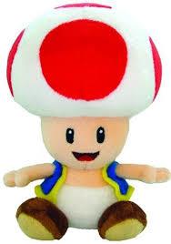 amazon nintendo official super mario toad plush 6
