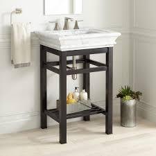carrara marble console sink 24 modern console sink carrara marble top carrara marble