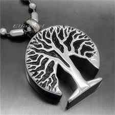 cremation jewelry for men silver tree of cremation jewelry keepsake memorial urn men