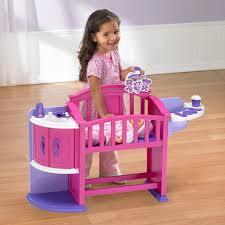 Baby Doll High Chair Set American Plastic Toys My Very Own Nursery Walmart Com