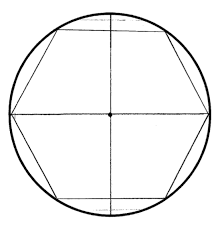 Interior Angles In A Circle Regular Hexagon In A Circle Students Are Asked To Construct A