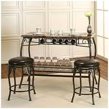 Our New Wine Bar Counter Height Marquee 3 Piece Bar Set At Big