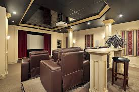 Home Theater Design Ideas  Best Home Movie Theater Design Ideas - Home theater interior design ideas