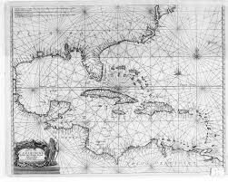 Map Of Caribbean Islands And South America by Digital History