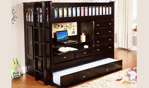 Espresso Desk With Hutch Discovery World Furniture Twin Over Twin All In One Loft Bed