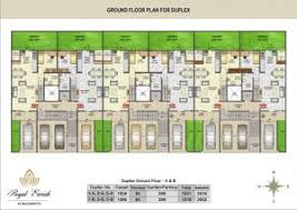 Row Houses Floor Plans Download Row House Floor Plan Design Adhome