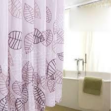 Shower Curtains Purple Clearance Leaf Purple Shower Curtain In Bathroom Usage Buy Purple