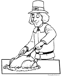 thanksgiving cutouts free printable coloring home