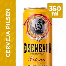 Basta Cerveja EISENBAHN Pilsen Lata 350ml @QU49