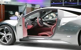 Concept Interior Design Version 2 0 Updated Acura Nsx Concept Shows Possible Interior