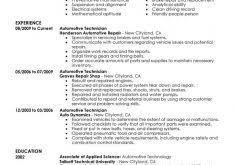 Automotive Technician Resume Sample boeing mechanical engineer sample resume haadyaooverbayresort com