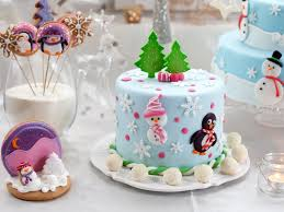 Christmas Cake Decorating Accessories by Pretty Christmas Cakes Time For The Holidays Christmas Recipes
