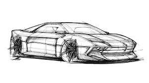 ferrari sketch would you like the ferrari 288 gto to come back as this