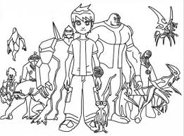 coloring pages endearing ben 10 coloring pages ben10 05 ben 10